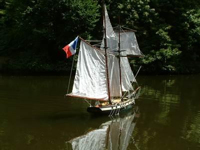 La Recouvrance mini nav