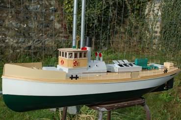 Patrick Jaoën mini nav vapeur
