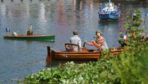 Pascale Caline & Chou + bateaux